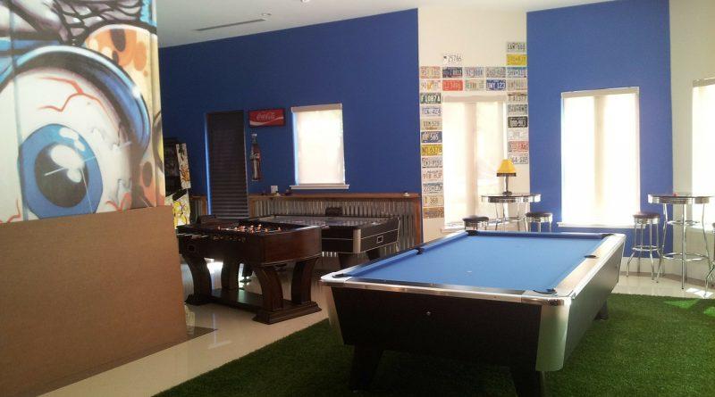 Idealny pokój do gier planszowych