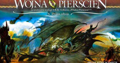 Recenzja gry planszowej Wojna o pierścień (2 edycja)