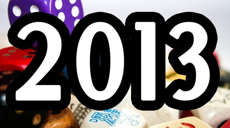 Najlepsze gry planszowe 2013 roku