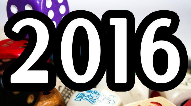 Najlepsze gry planszowe 2016 roku
